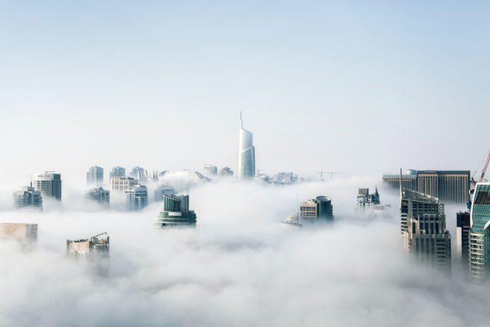 illustration of fog computing