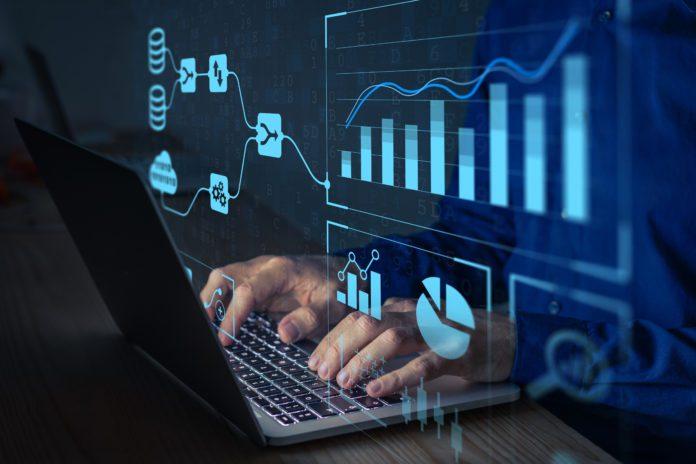 predictive analytics software illustration