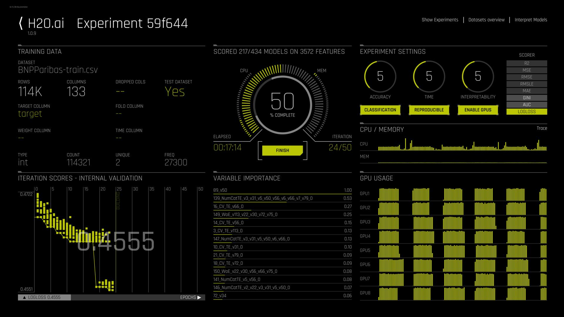 h20.ai screenshot